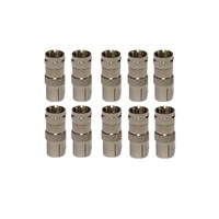 F Male to PAL Female Adapter - Pack of 10