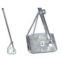 TRIPOD TV Antenna ROOF MOUNT FOR TIN ROOFS